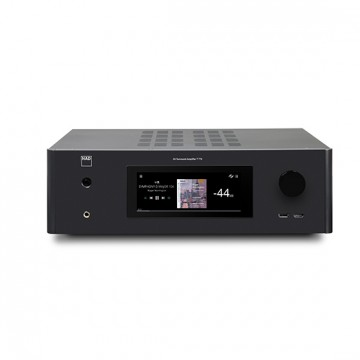 Coluna Central Q Acoustics 3090C Walnut Nova Serie 3000