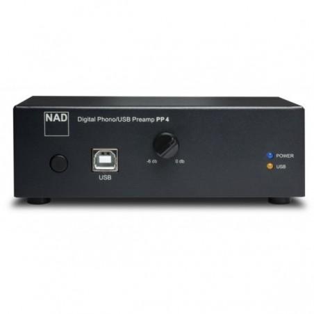 NAD PP 4 Pré Amplificador Digital ExternoPhono e DAC Com USB