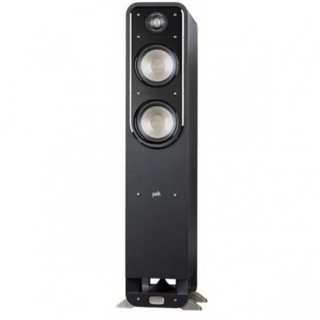 (KIT) SISTEMA POLK AUDIO COLUNAS SIGNATURE S55 ( PAR , PRETO ) + MARANTZ RECEIVER COM 7.2 8 K SR5015 ( BLACK )