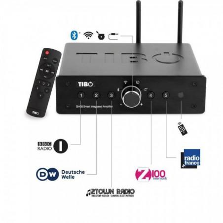 TIBO - SIA50 Amplificador Integrado HIFI de Streaming Multiroom