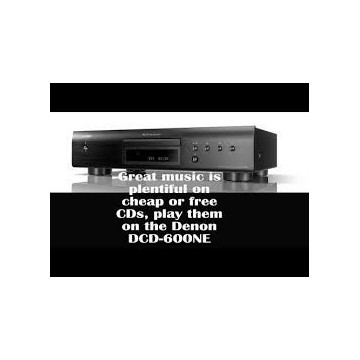 DENON DCD-600NE/BK Leitor CDS