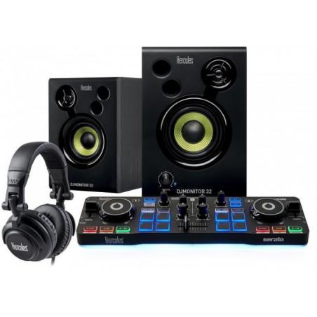 HERCULES DJ LEARNIN KIT(IMPULSE200+DJMONITOR32+HDP DJ45